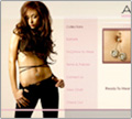 Website Design - Alexa Navel Jewelry